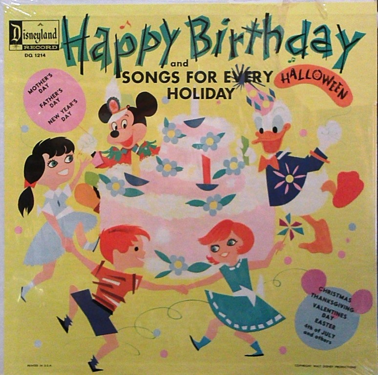 Happy Birthday and Songs for Every Holiday