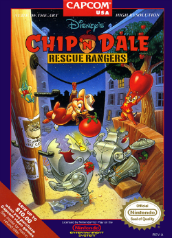 Chip 'n Dale Rescue Rangers (videojuego)