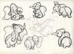 Dumbo II Sketch Dumbo
