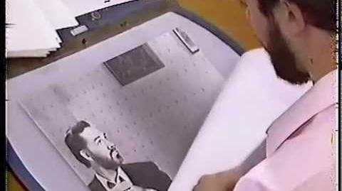 "Early unmade version of ""Who Framed Roger Rabbit"" Paul Reubens, Darrell Van Citters, Disney 1983"