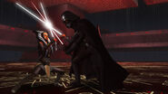 Vader VS Ahsoka Promo