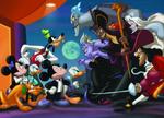 Mickey&Co vs Villanos