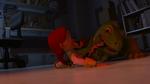 Mr. Jones biting Jessie