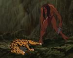 Tarzán derrota Sabor