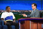 Tracy Morgan visits Stephen Colbert