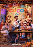 Coco Spanish Family Poster