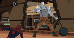 Spiderman vs Absorbing Man