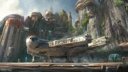 Star Wars Land Concept Art 02