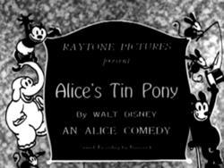 Alice's Tin Pony