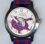 Disney time cheshire cat watch