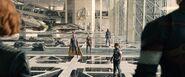 New Avengers Facility hanger