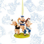 The Three Little Pigs Limited Release Sketchbook Ornament - April 2017