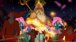 Cameo 35 - King Triton in The Princess and the Frog