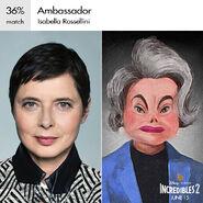 Incredibles 2 - Concept Art - Ambassador