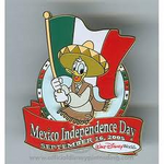 Mexico Independanced Pin
