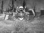 Skeleton bones coming apart