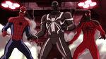 Ultimate Spider-Man - 4x06 - Double Agent Venom - Spider-Man, Agent Venom and Scarlet Spider