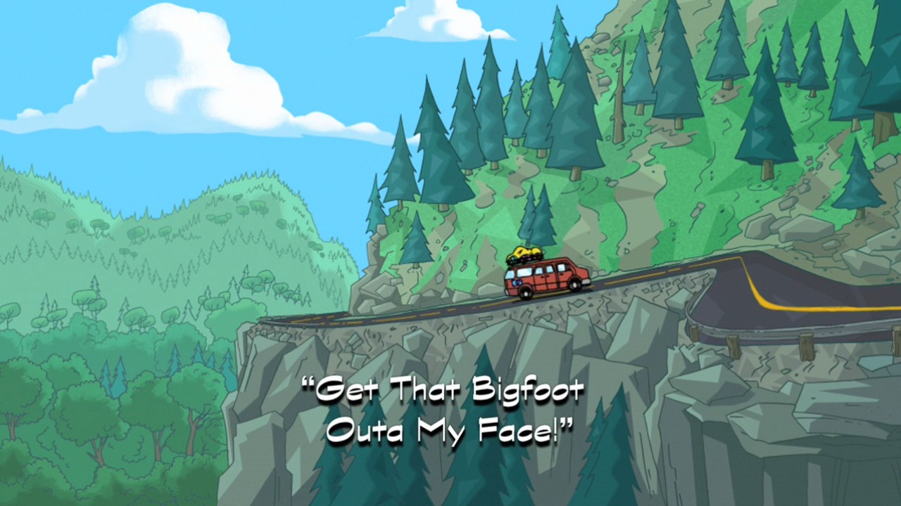 Get That Bigfoot Outta My Face!