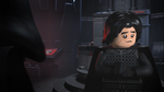 Kylo is sad that he broke his mask - The LEGO Star Wars Holiday Special