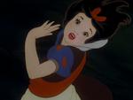 Snow White twirling around