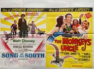 Song of the south monkey's uncle uk release poster