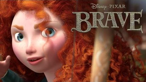 Brave Merida and Elinor Disney Pixar