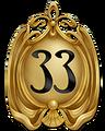 DL Club 33 Golden Logo
