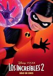 Incredibles 2 Spanish Poster