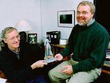 John Musker & Ron Clements Captain Amelia sculpture TP