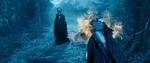 Maleficent freezes Aurora