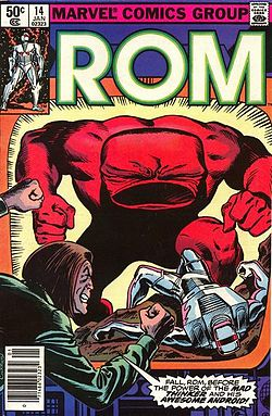 250px-ROM no. 14 (Marvel Comics - front cover).jpg