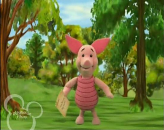 Piglet's Inadvertent Adventure