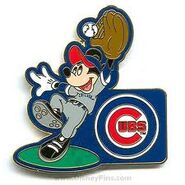 Chicago Cups Mickey Pin