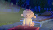 Lambie in starry starry night