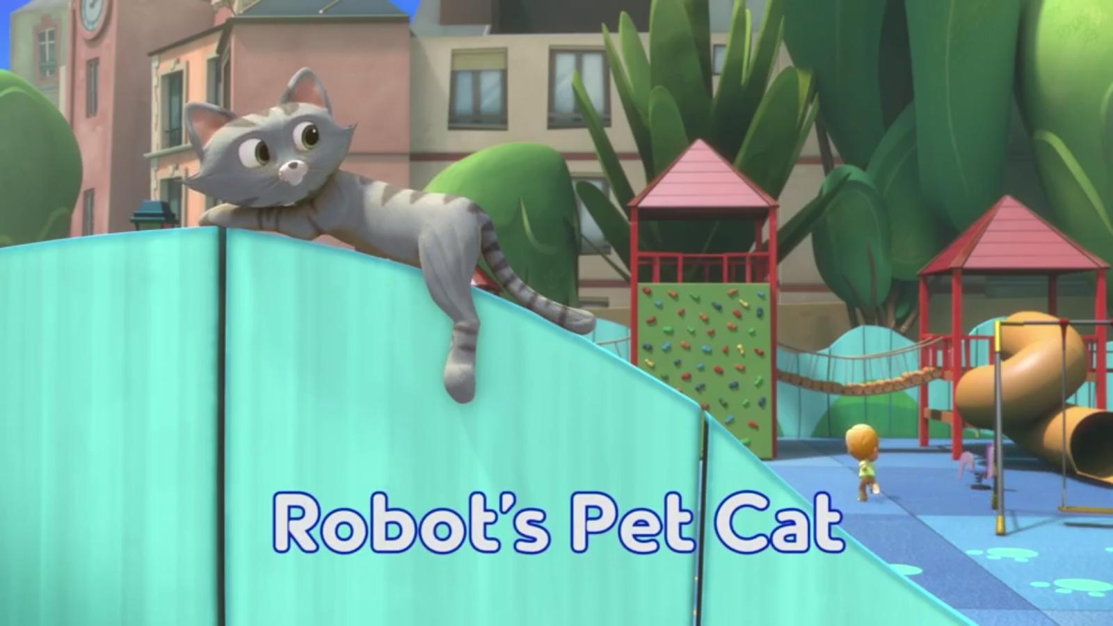 Robot's Pet Cat