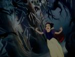 Snow White running