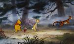Winnie the Pooh Tigger Piglet and Rabbit go on a misty walk