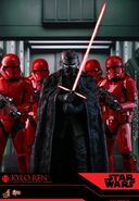 Hot-Toys Kylo Ren Sith troopers TROS