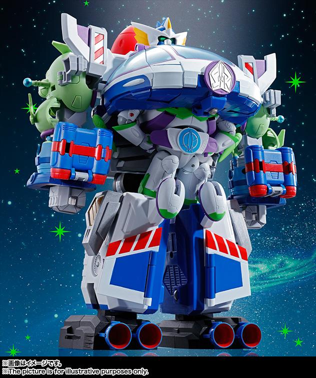 Buzz the Space Ranger Robo