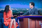 Rosario Dawson visits Stephen Colbert