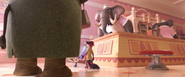 Zootopia At the Ice Cream Parlor
