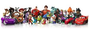 Personajes jugables introducidos en Disney INFINITY