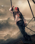 Disney Dream Portrait Series - Jack Sparrow - Where Magic Sets Sail...