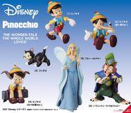 Pinocchio 2019 figure set