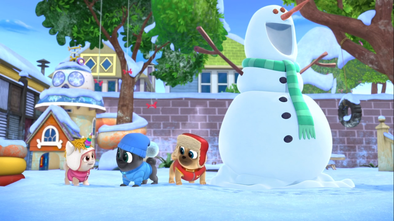 Snowman Secret Service