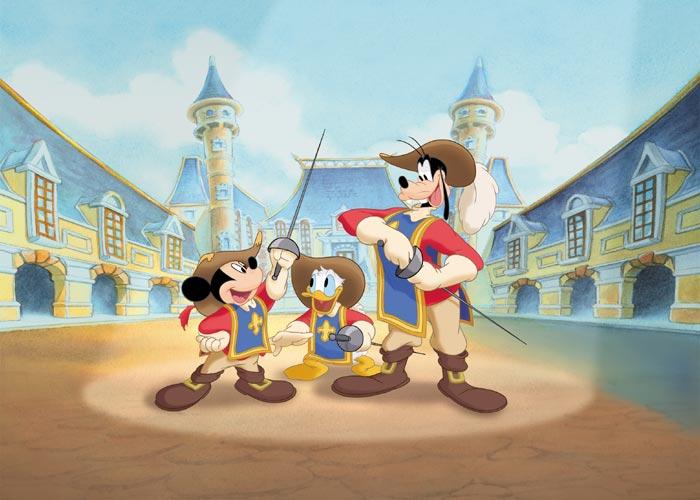Mickey, Donald e Pateta: Os Três Mosqueteiros/Galeria