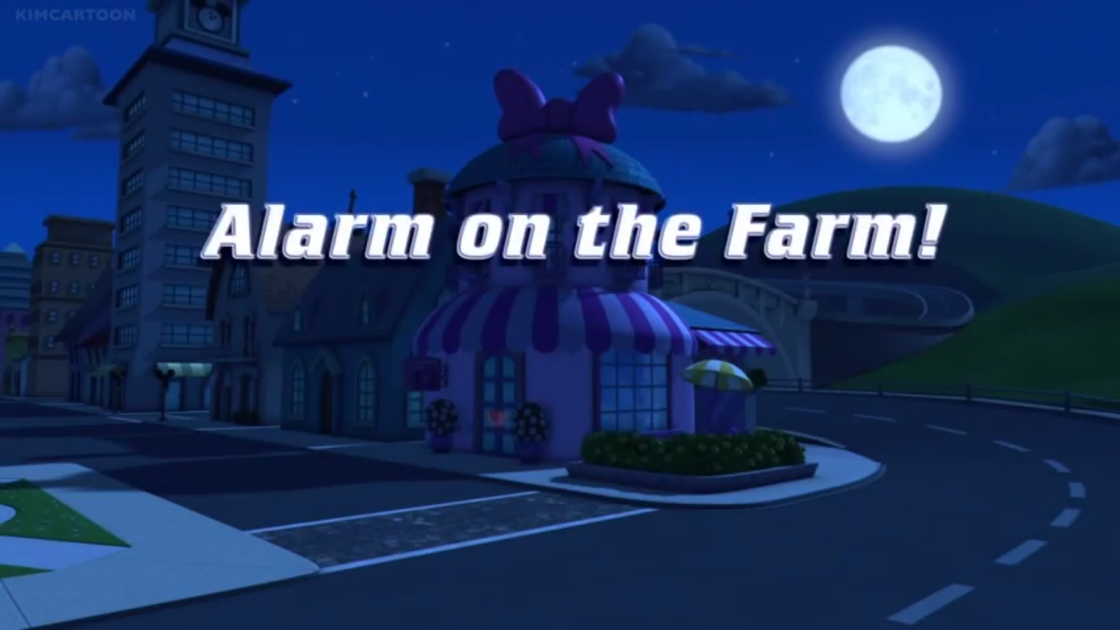 Alarm on the Farm!