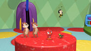 Chip n dale, baby red bird, wilbur and buzz buzz