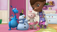 Doc, stuffy, lambie and chilly