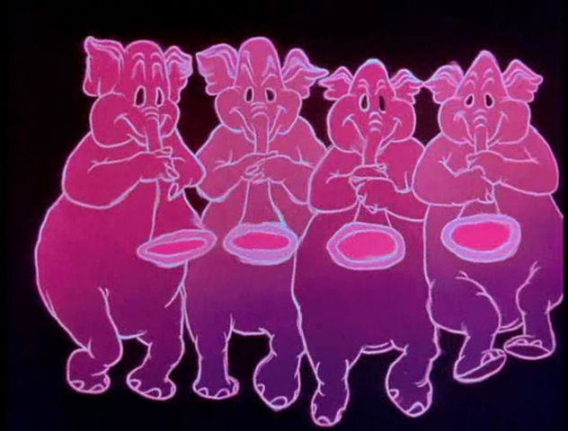 Elefantes Cor-de-Rosa